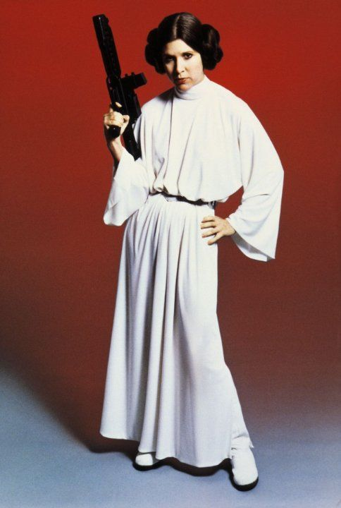 Still of Carrie Fisher in Star Wars: Episode IV - A New Hope (1977)