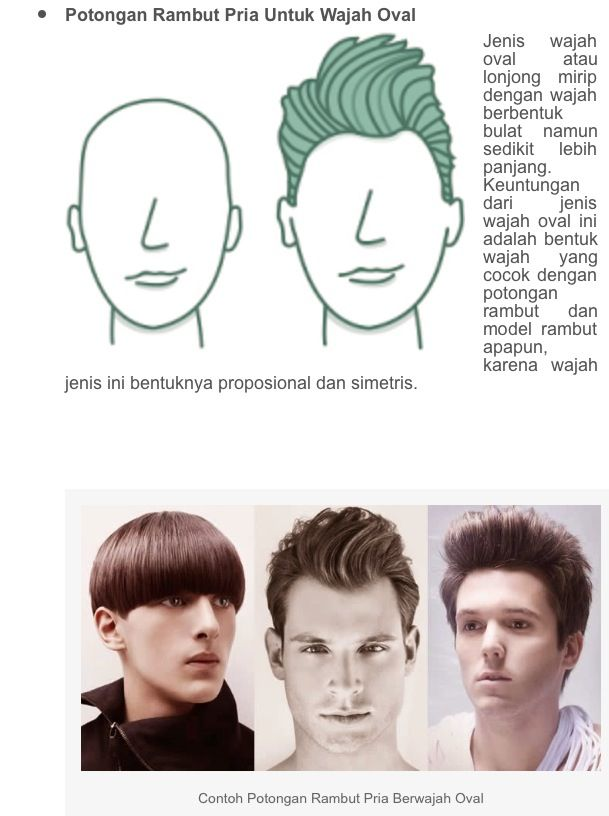 1 of 3 hairstyle appropriate head shape
