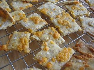 Gluten Free Cheesy Crackers from Ginger Lemon Girl.