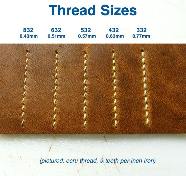 Orange Waxed Linen Thread For Hand Sewing Leather Goods