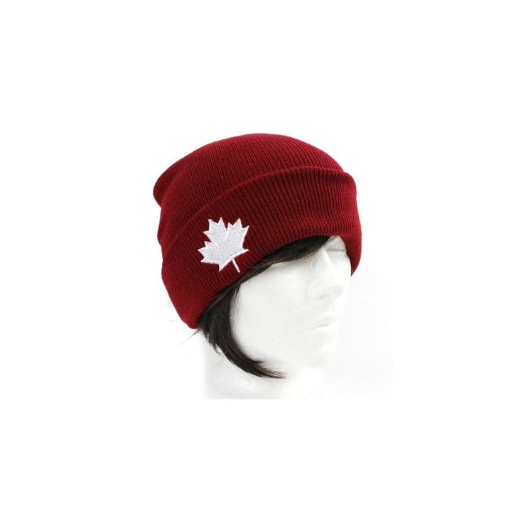 CANADA WINTER 2016 PREBOOK COLLECTION NEW ACCESSORIES HAT MAPLE LEAF RED