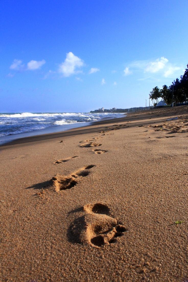 Caminhada na praia.. no parque..