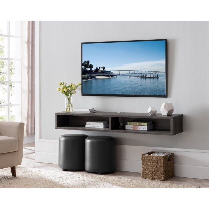 Keiper Solid Wood Floating Tv Stand For Tvs Up To 70 Mounted Tv Ideas Living Rooms Living Room Furniture Sale Floating Tv Stand