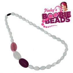 Pinky's Boobie Beads - White