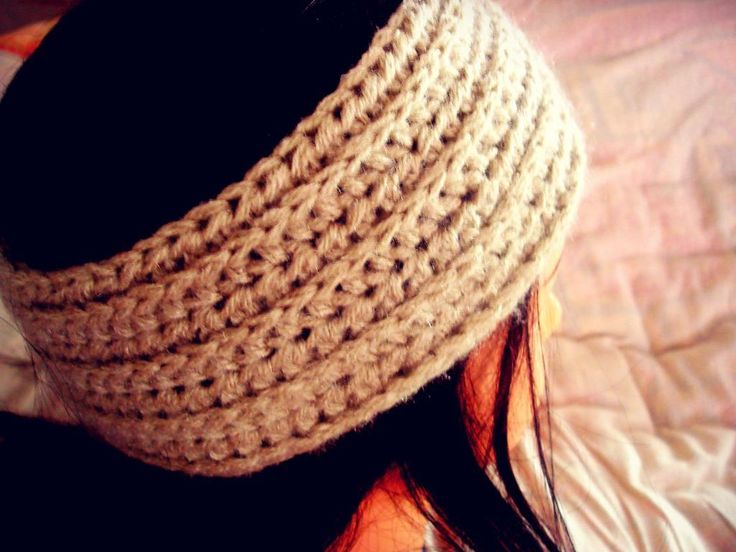 Free Crochet Ribbed Headband Patterns : Ribbed headband pattern Crochet Pinterest