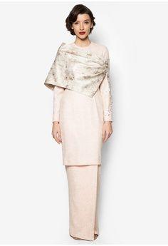 Karla Baju Kurung from Jovian Mandagie for Zalora in pink_1