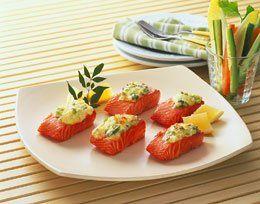 Fjord forel met prei en mayonaise - Taste Inspiration !