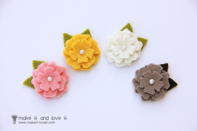 Wool Felt Hair Accessories for Baby
