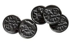Salmiakki pirate coins