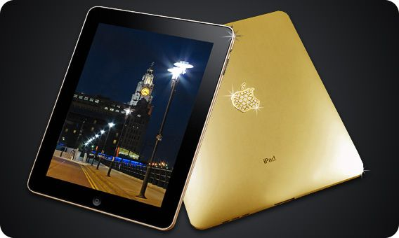 Insane! This gold iPad case costs $7,944,000.