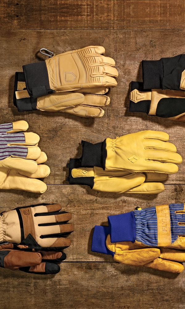 "With so many ""performance"" options out there, why do ski patrollers, lifties, and your ski-bum friends still wear old-school leather work gloves on the mountain? They're cheap, durable, mostly waterproof, and authentically stylish."