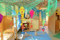 Space inspired by the schools of Reggio Emilia.