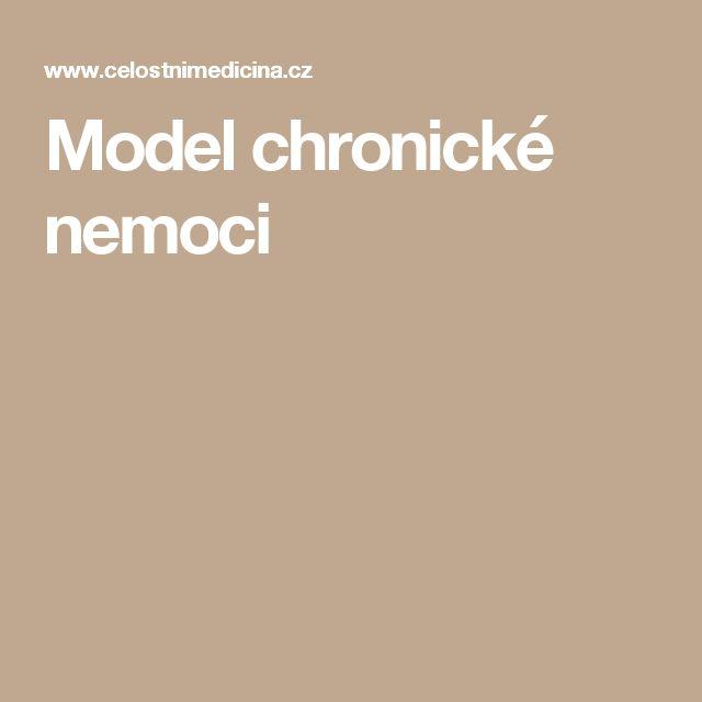 Model chronické nemoci