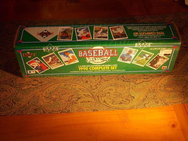 1990 Upper Deck baseball cards complete set 3-D Holograms factory sealed