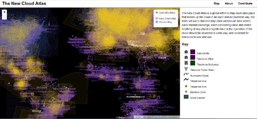 - The World Wide Map of the Internet