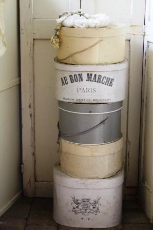 Mijn verzameling Franse hoedendozen