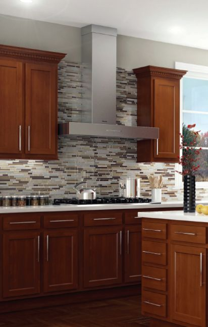 Transform your cluttered kitchen into a sleek space with for Prefinished kitchen cabinets