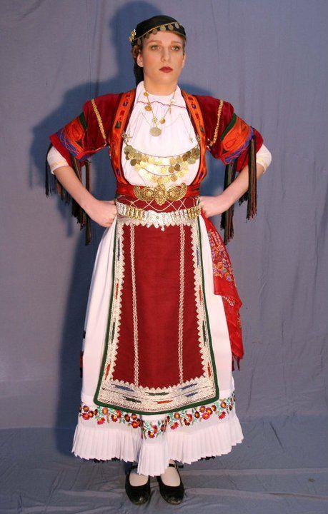 Καραγκούνα Καρδίτσα Θεσσαλία # Ιμάτιον - Ελληνικές Παραδοσιακές Ενδυμασίες