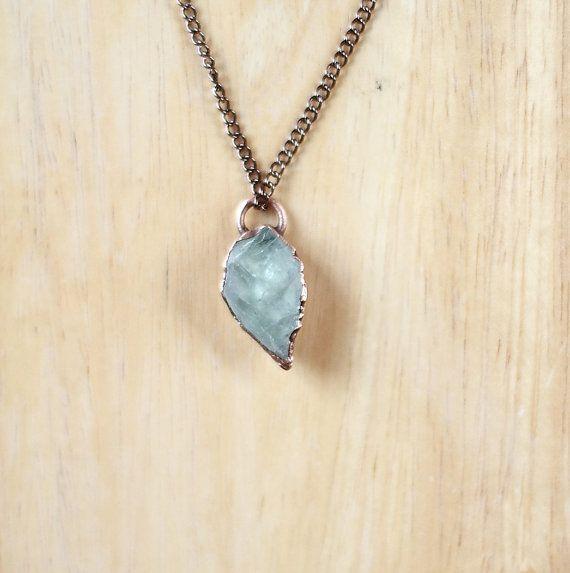 aquamarine necklace blue aquamarine by