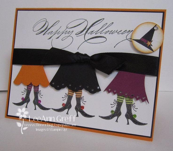Adorable Halloween card.