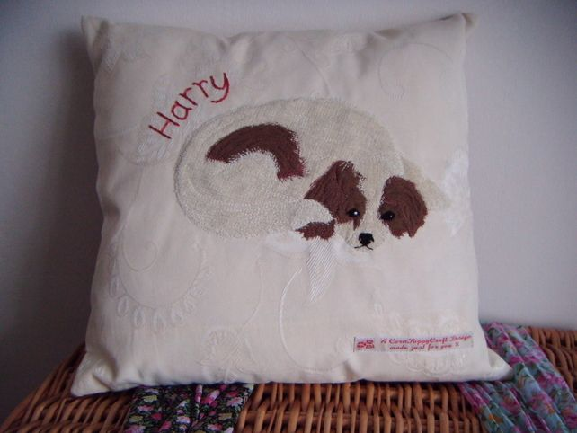 Personalised LOVE MY PET Cushion £34.00