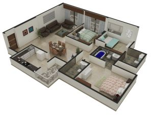 89 best 3D Architectural Floor Plan Design and Rendering Services ...