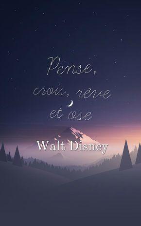 Belle Phrase Fond D Ecran Iphone Paysage Naturel Au Ciel Nocturne Et Etoiles Phrase Walt Disney Comme In 2020 Foto Zitate Disney Spruche Schone Redewendungen
