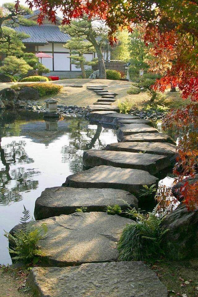 Arte Para Mi Alma Planificación De Jardín Estanques De Jardín Jardines Japoneses Jardines Bonitos