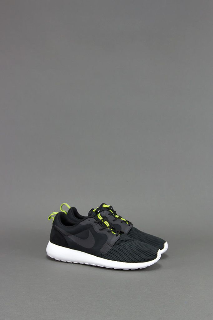 finest selection 51a6d fd9ee ... nike roshe run hyperfuse black anthracite venom green .