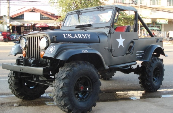 CJ Jeep.  If they're good enough for the US Military .............