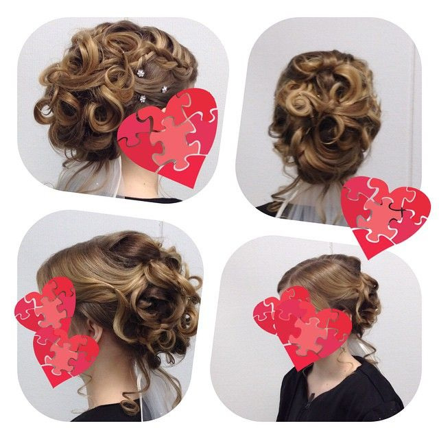#bride #weddinghair #hairdo #wedding #longhair  made By Sirpa Polvi