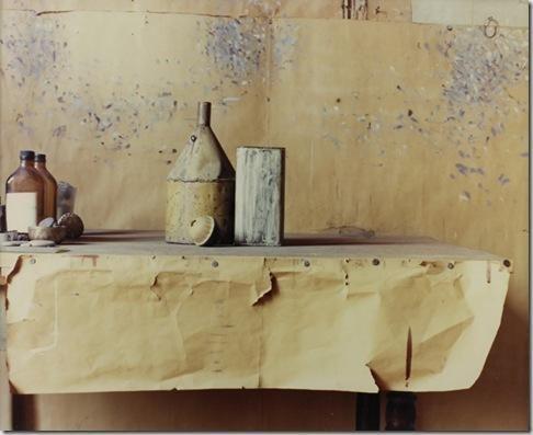 Luigi GHIRRI, Atelier Morandi Bologna, 1989-90 c-print, vintage, matt