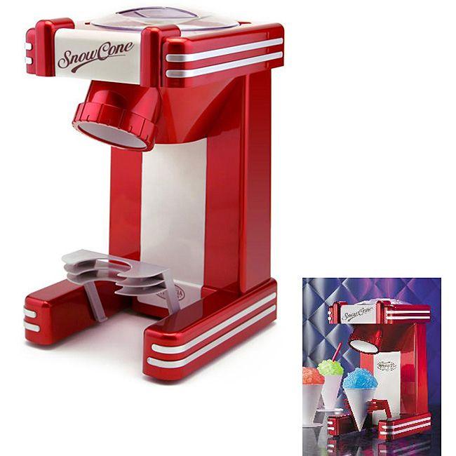 Nostalgia Electrics Retro Series Single Snow Cone Maker | Overstock.com Shopping - The Best Deals on Specialty Appliances