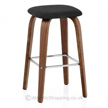 A simplistic Scandi design, the Stockholm Bar Stool Black is sure to impress.
