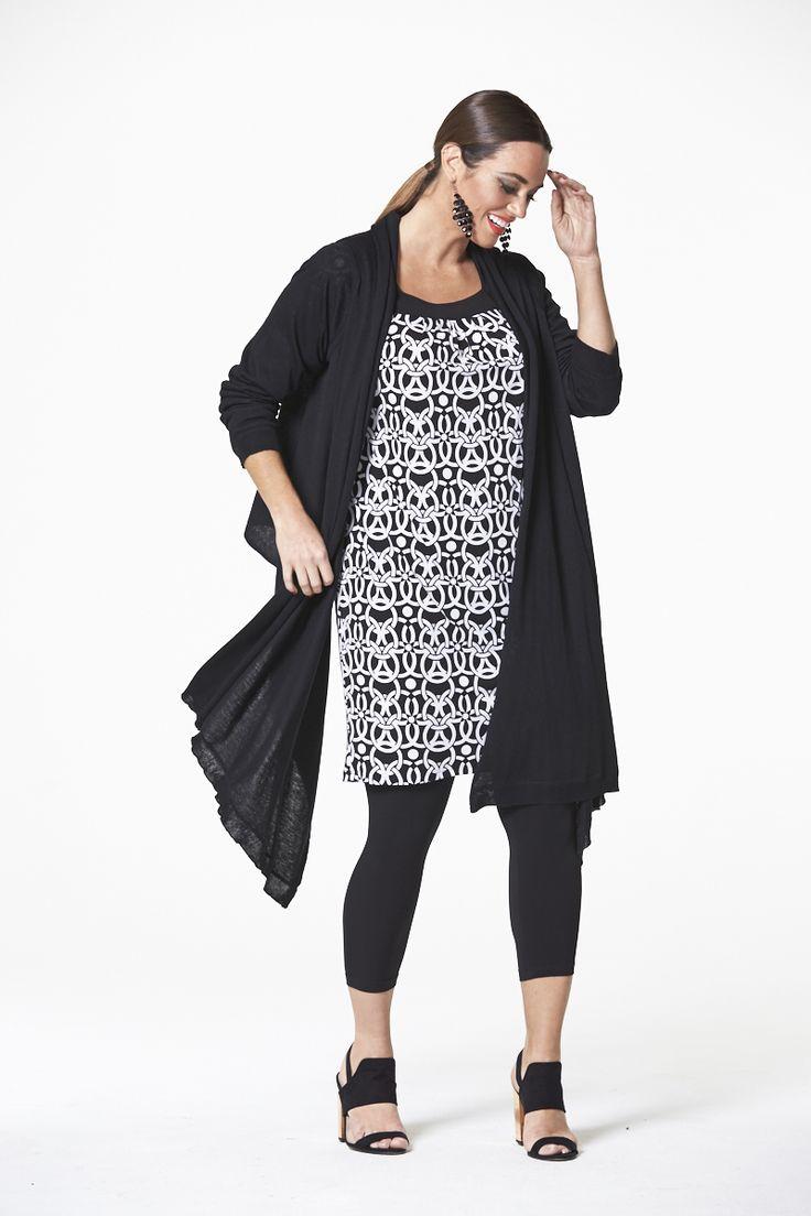 Modern Wrap in Black  #mysize #plussize #fashion #plussizefashion #spring #newarrivals #outfit