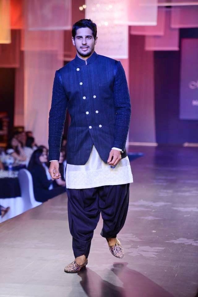 #SiddharthMalhotra for #ManishMalhotra at the #Mijwan show