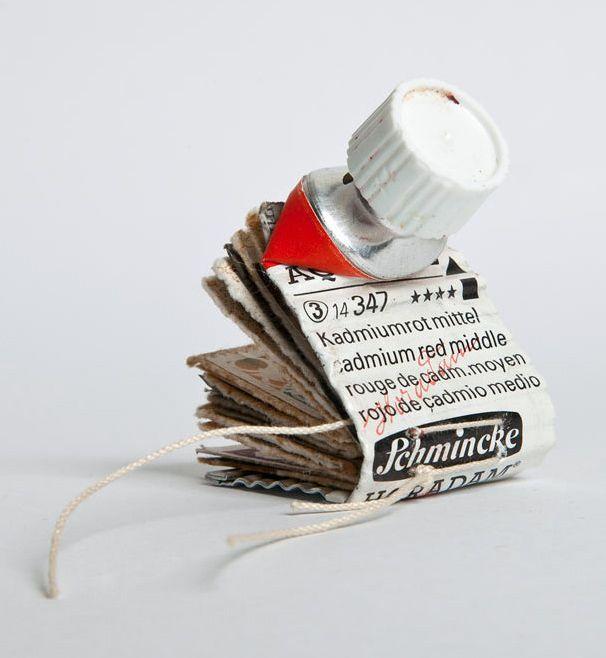 SUSAN BRADY, EL CERRITO, CA has made this in: Lisa Kokin's | Six-week long recycled materials art class