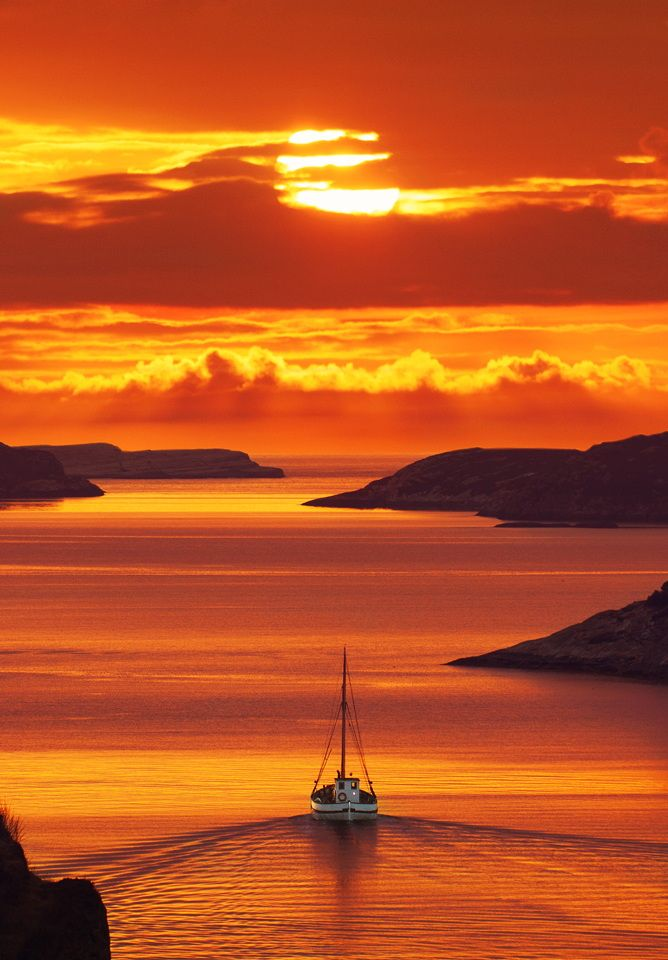 Golden Sunset Santorini Greece from Amazing Things