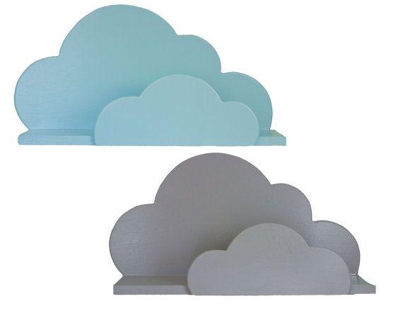 Cloud Wall Shelf Large by ShopLittles on Etsy