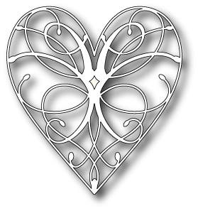 DIES-LaRue Heart By Memory Box