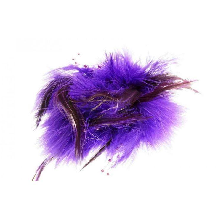IVYS Purple Fascinator