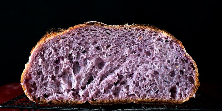 Why You Should Be Eating Purple Bread