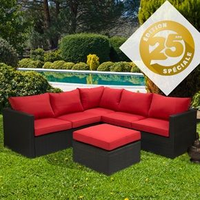 Sectionnel fiesta dition sp ciale 25i me anniversaire for Club piscine outdoor furniture