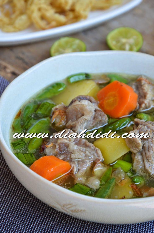 Diah Didi's Kitchen: Sup Iga Pedas Ala Sop Janda