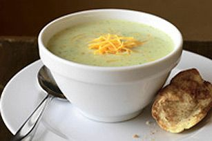 Broccoli and Cheddar Cheese Soup #recipe
