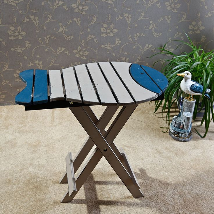 The Mediterranean Style Creativity To Do The Old Wood Balcony Lightweight  Folding Tables Coffee Table .