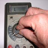 Testing Electrical Testers For Safety : Multi-meter Tester Setting Dial