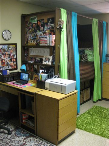 Decorating the Dorm Room on a Budget