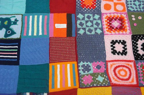 Jigsaw Blanket Knitting Pattern : Knit a Patchwork Blanket Patchwork blanket, Patchwork and Blanket