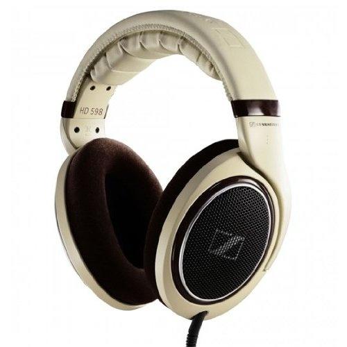 Sennheiser HD 598 Headphones (Burl Wood Accents)
